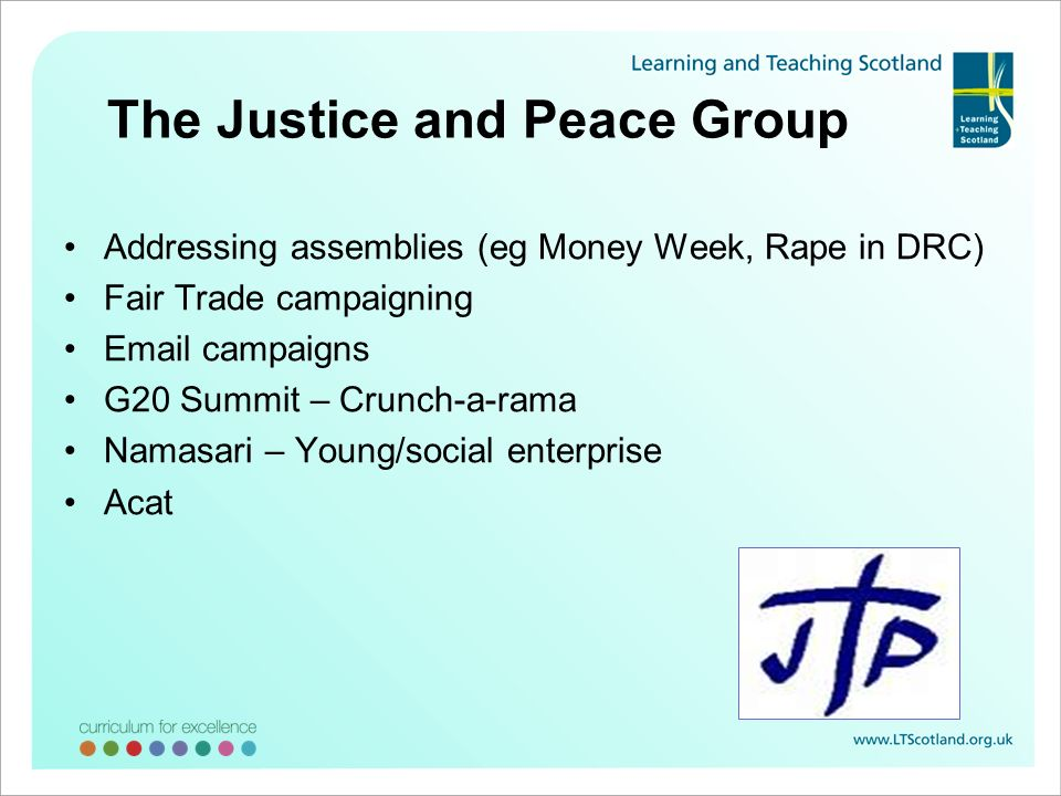 The Justice and Peace Group