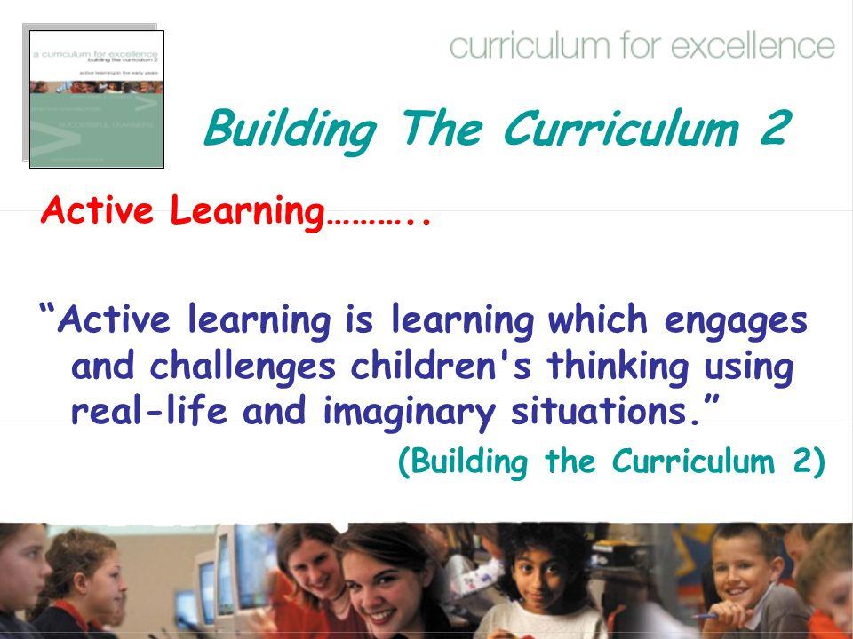 Building The Curriculum 2