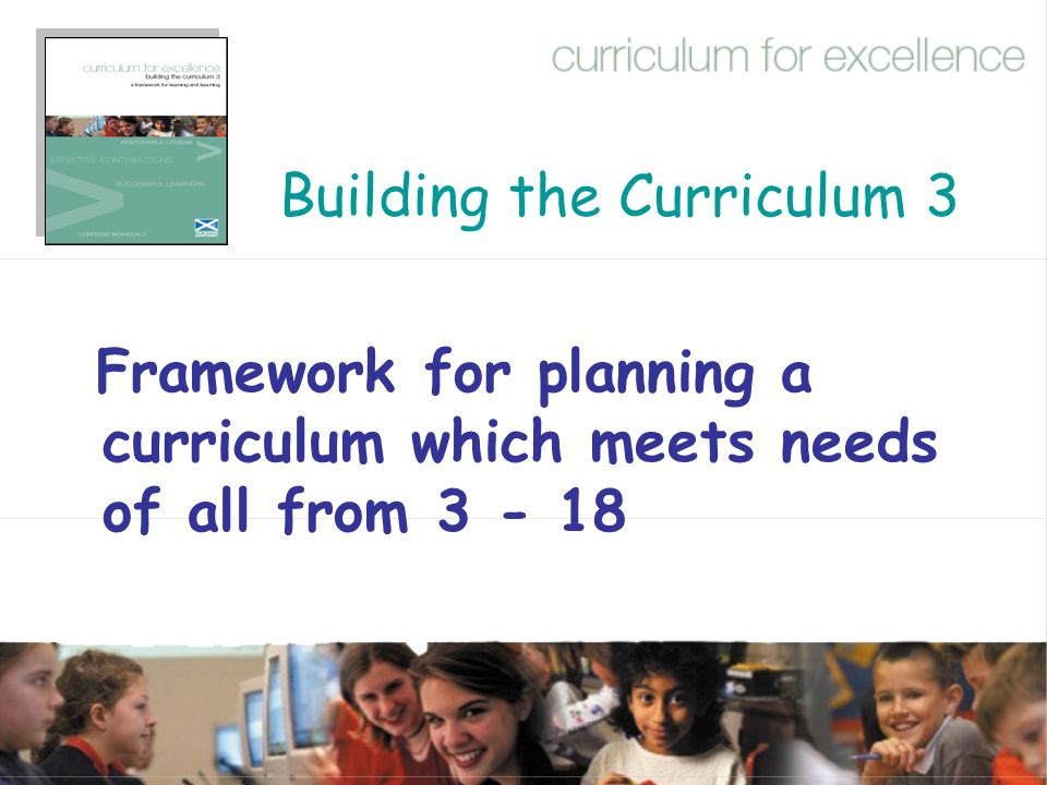 Building the Curriculum 3