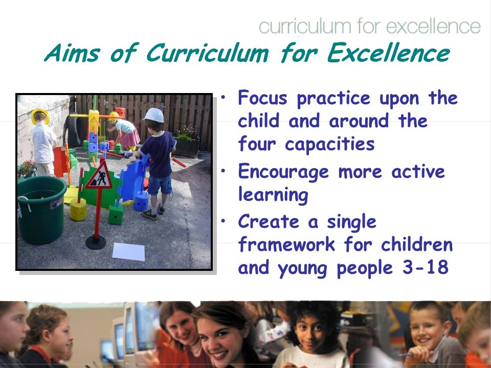 Aims of Curriculum for Excellence