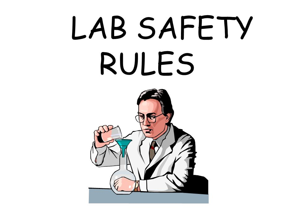 safety guidelines in a science lab chemistry