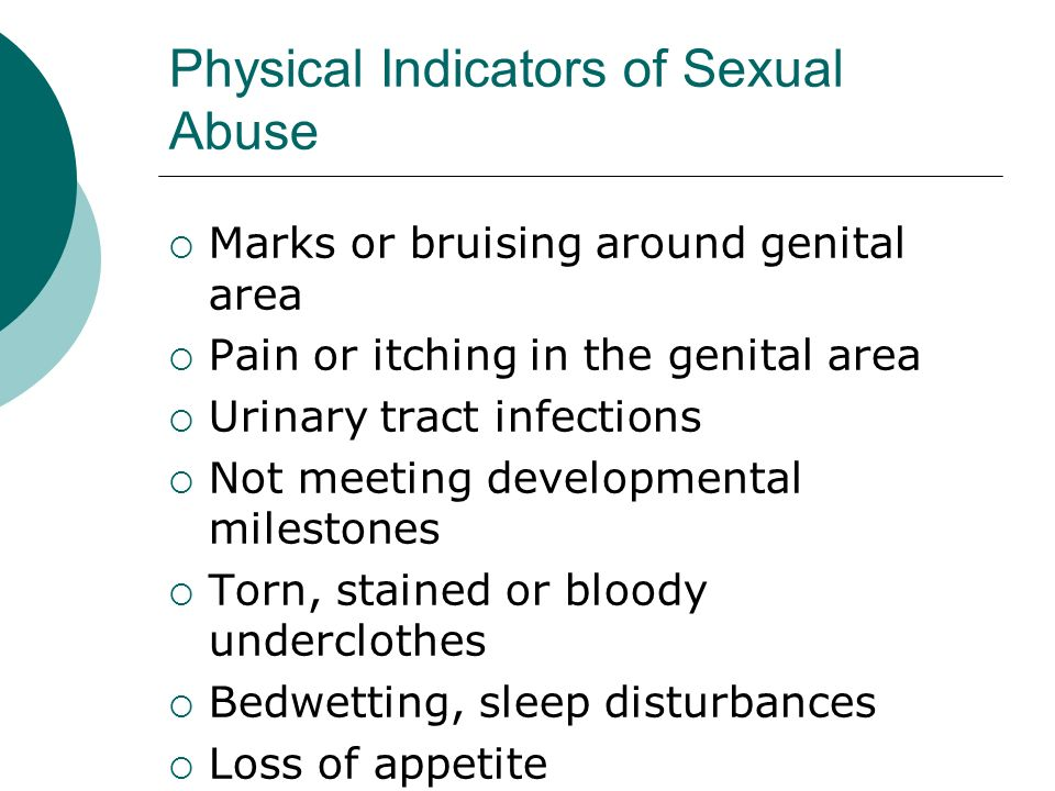 Physical Indicators of Sexual Abuse