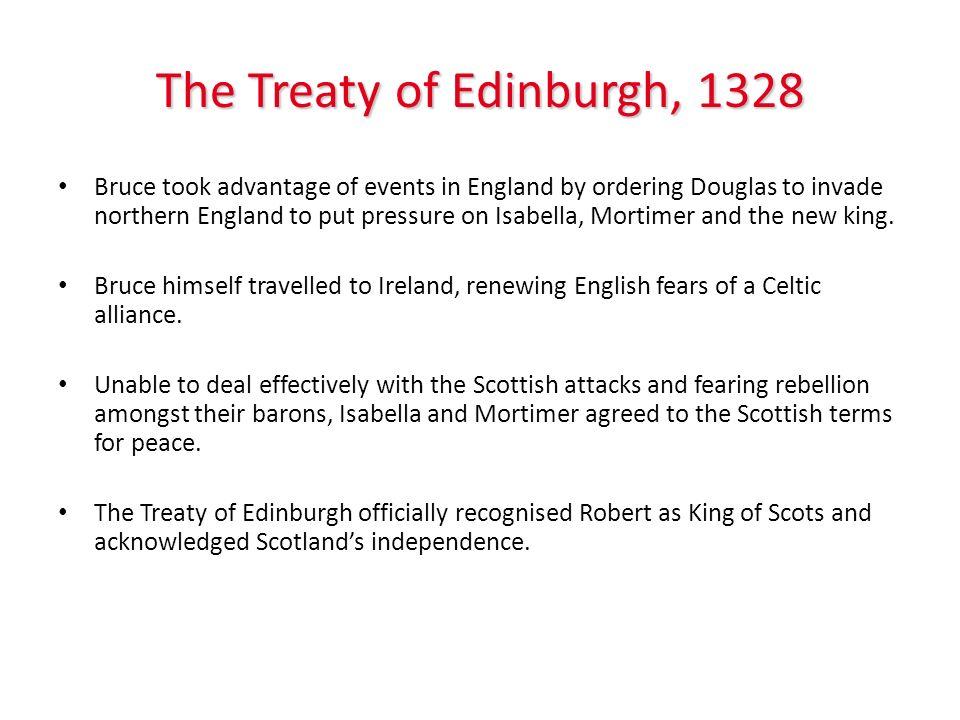 The Treaty of Edinburgh, 1328