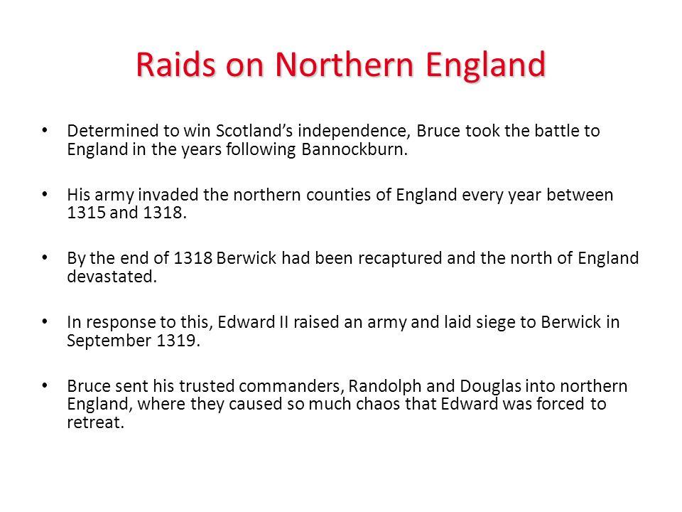 Raids on Northern England