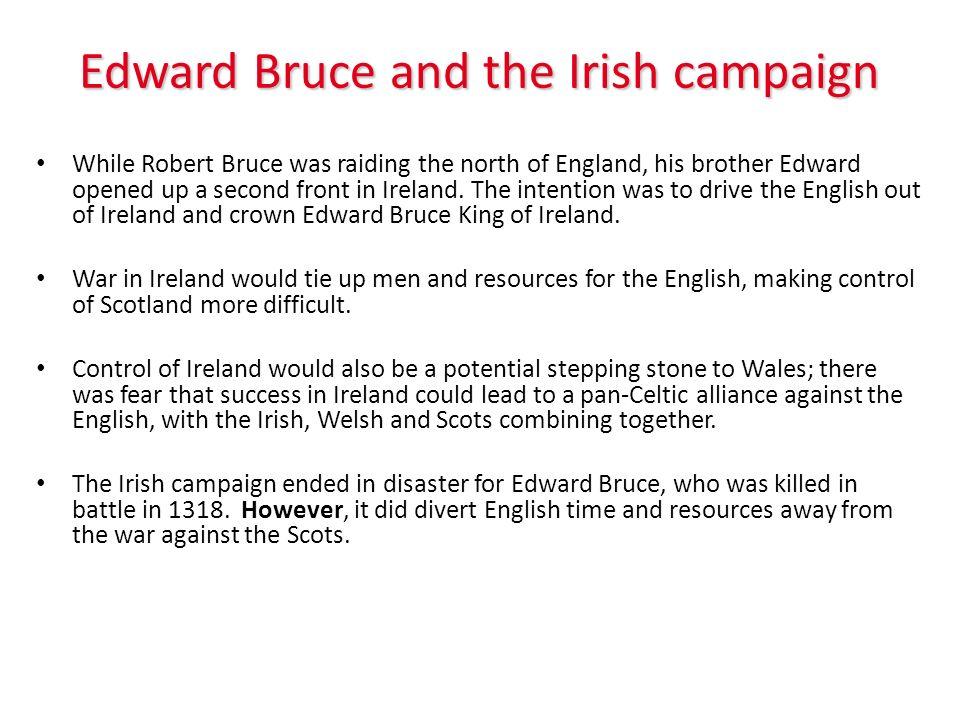Edward Bruce and the Irish campaign
