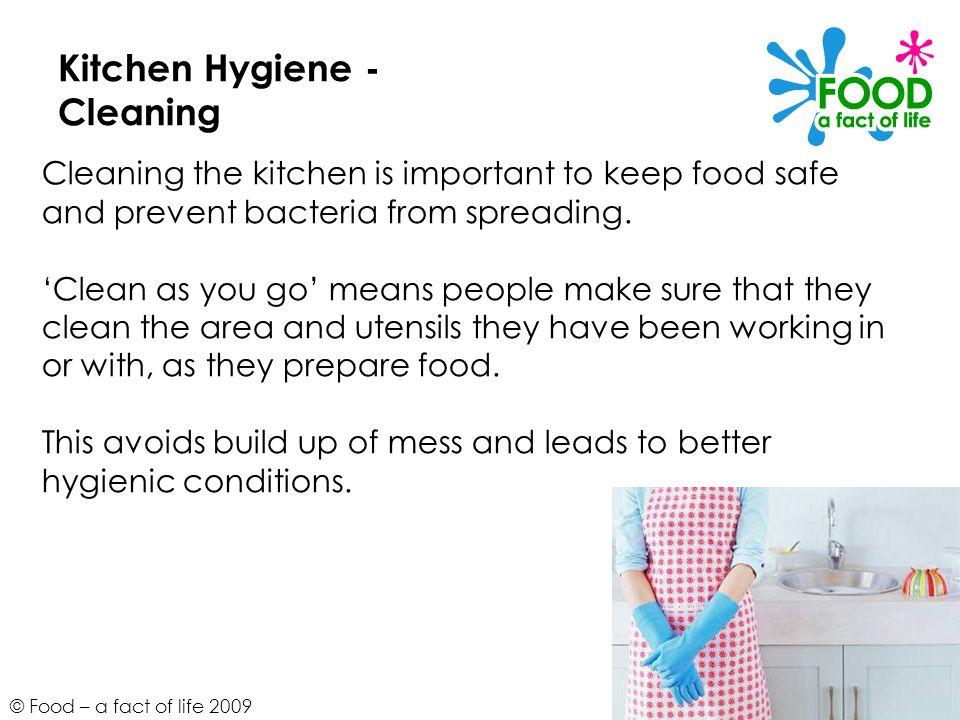 Kitchen Hygiene -Cleaning