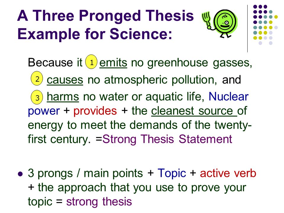 Three Pronged Thesis Term Paper Help