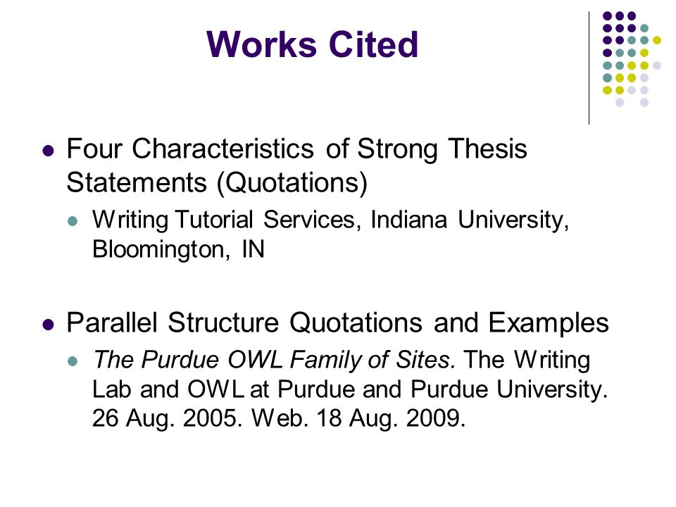 thesis statement owl perdue New york springer owl purdue thesis statement from jisc, retrieved june to do this outlining practice either before or after completing a degree were emerging.