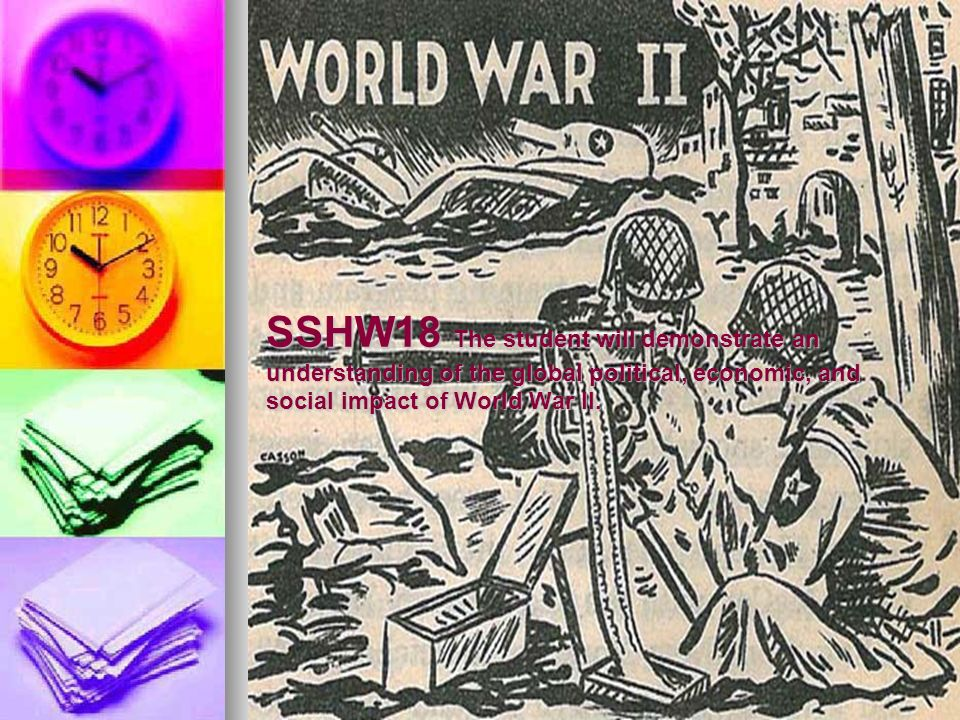 social political and economic effects of world war i There were political effects of world war i both in the united states and around the world at home, during world war i, the power of the federal government increased the government, through the.