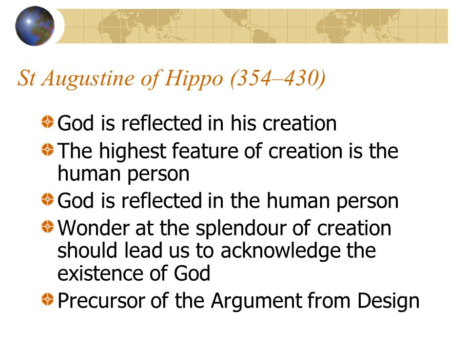 St Augustine of Hippo (354–430)