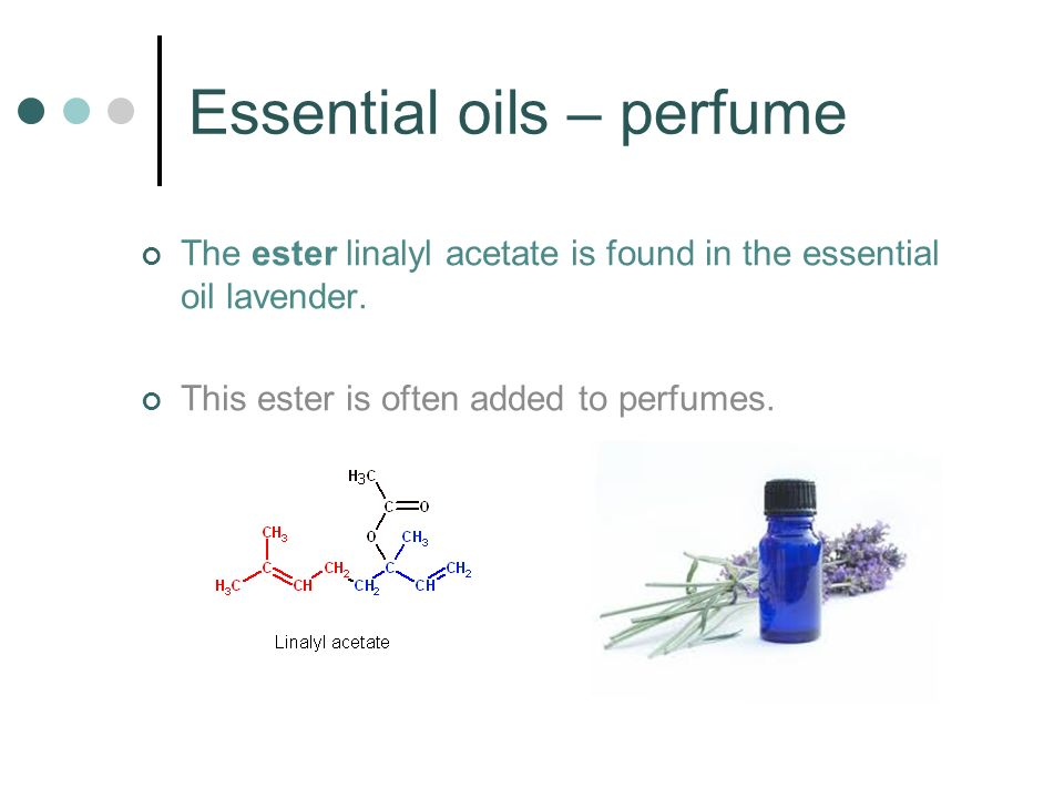 Essential oils – perfume