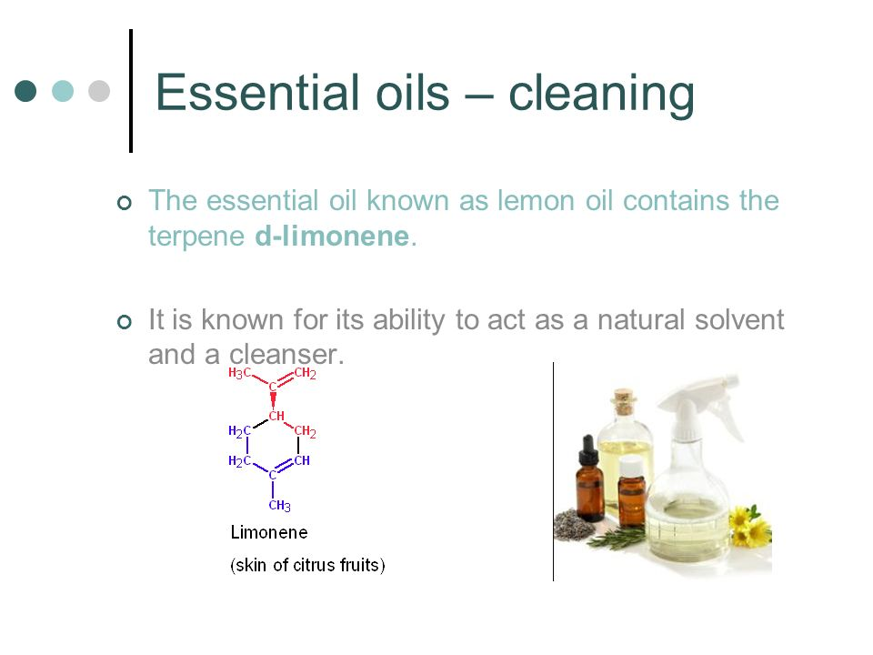 Essential oils – cleaning