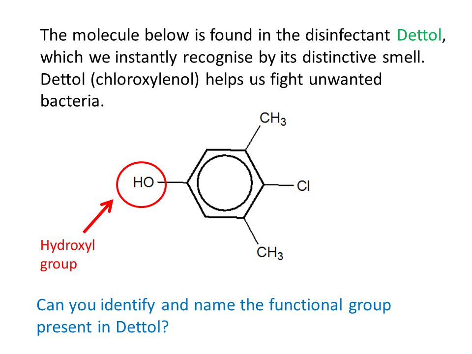 Dettol (chloroxylenol) helps us fight unwanted bacteria.