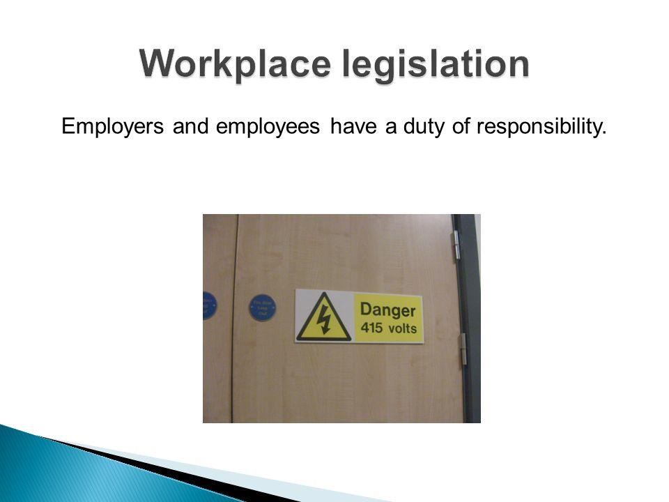 Workplace legislation
