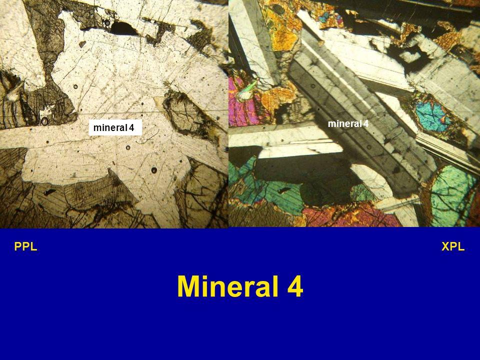 mineral 4 mineral 4 PPL XPL Mineral 4