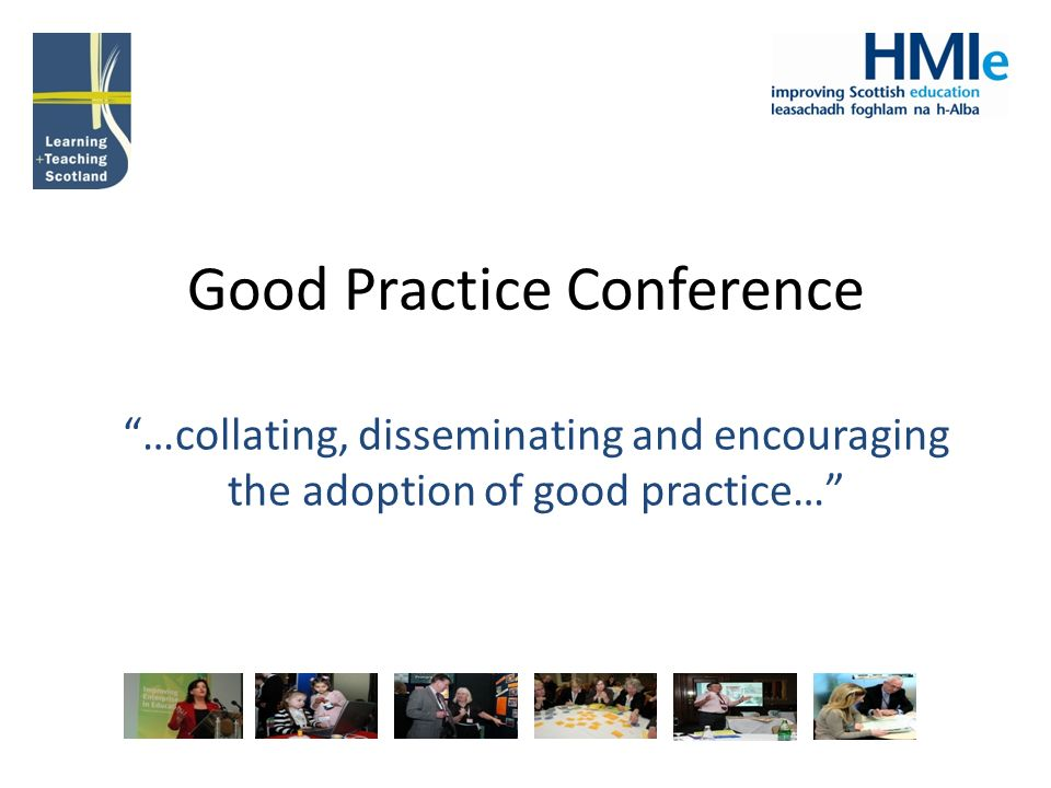 Good Practice Conference