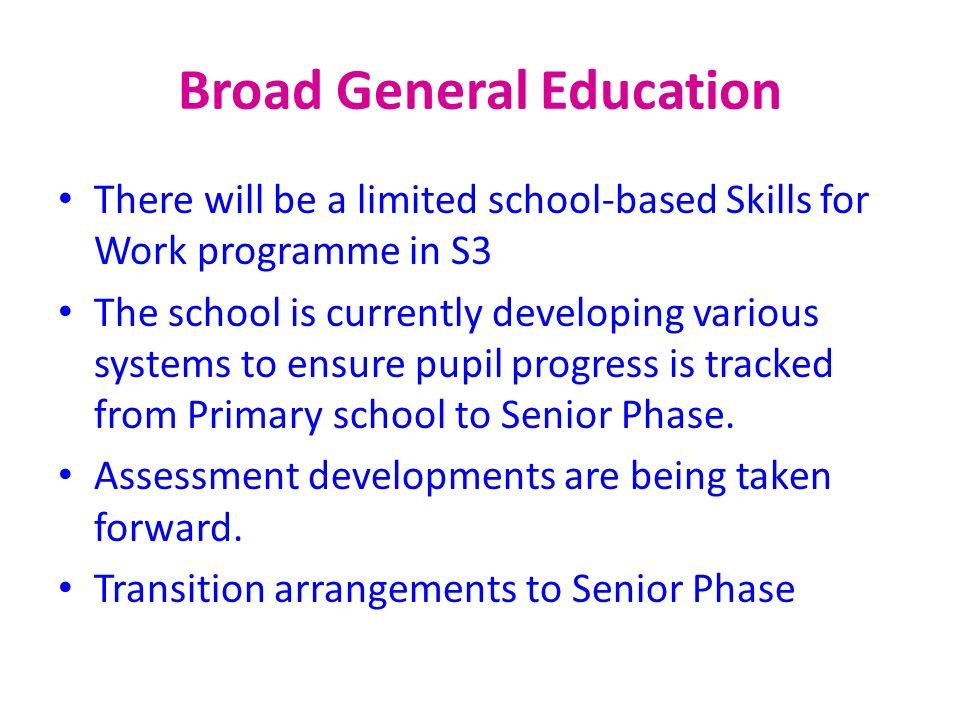 Broad General Education