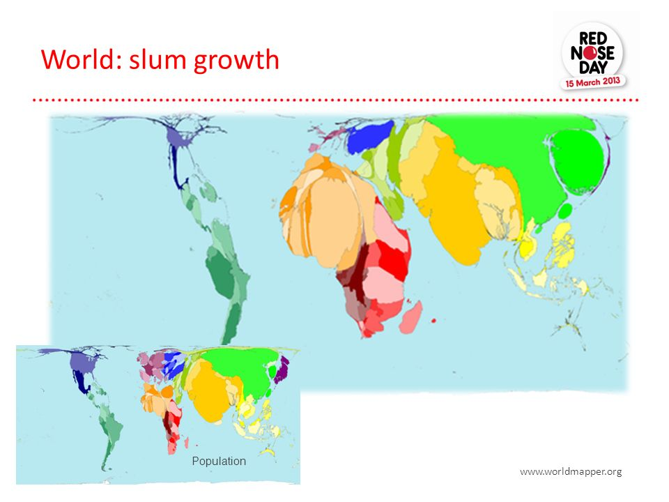 World: slum growth