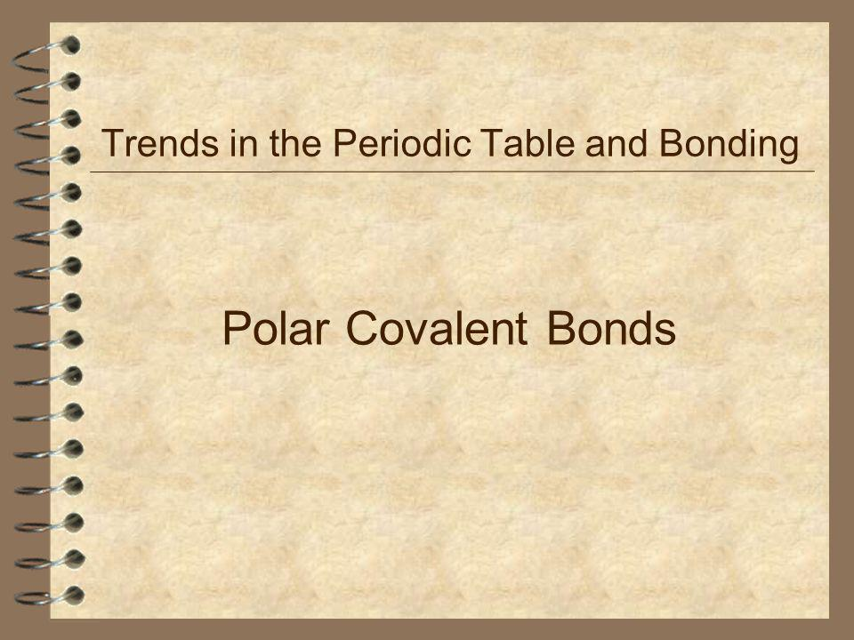 Trends In The Periodic Table And Bonding Ppt Video Online Download