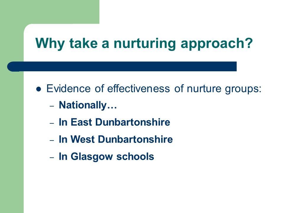 Why take a nurturing approach
