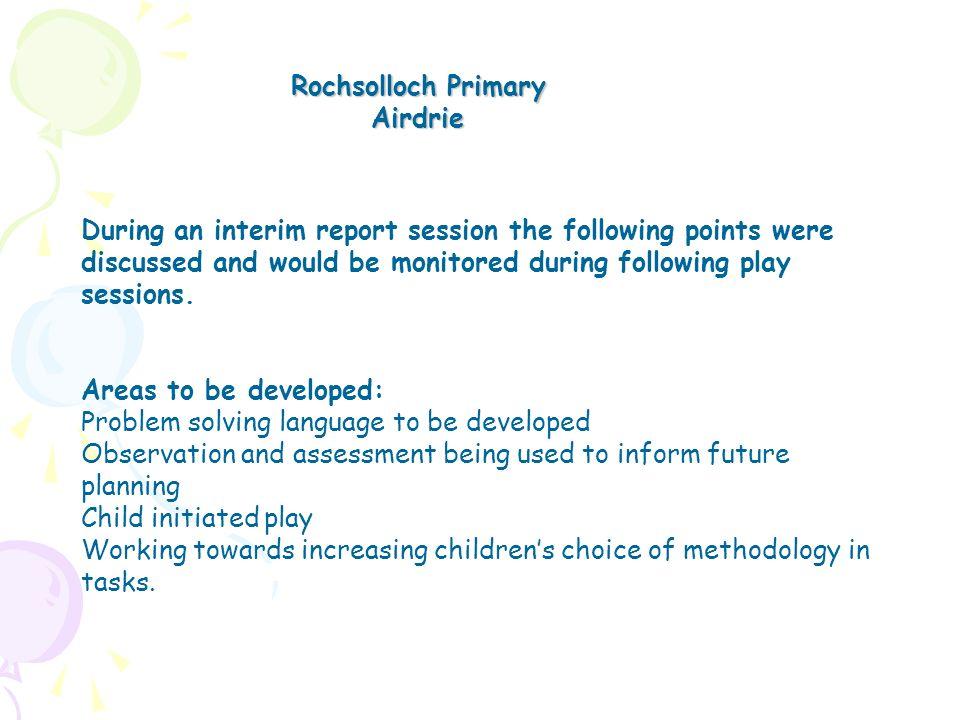 Rochsolloch Primary Airdrie.