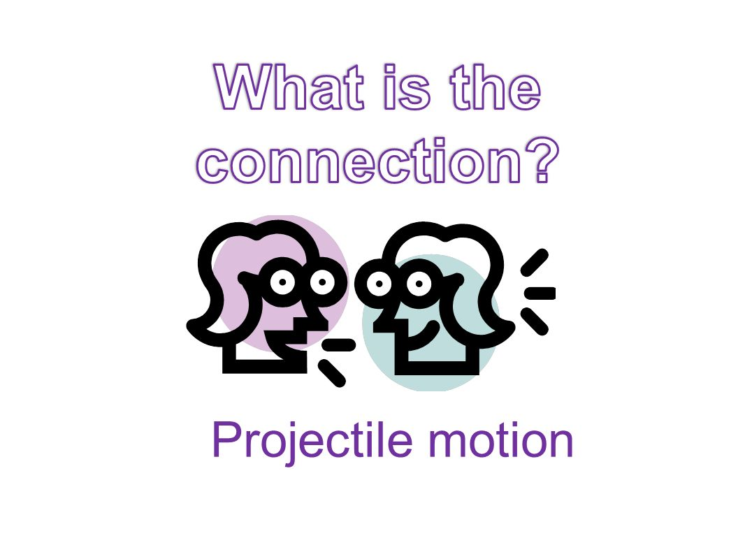 What is the connection Projectile motion
