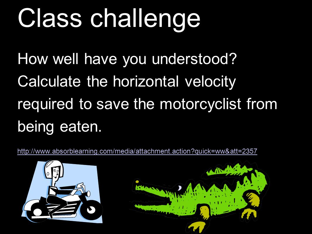 Class challenge How well have you understood