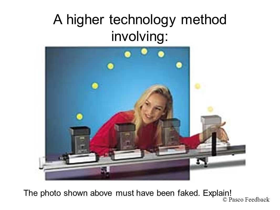 A higher technology method involving:
