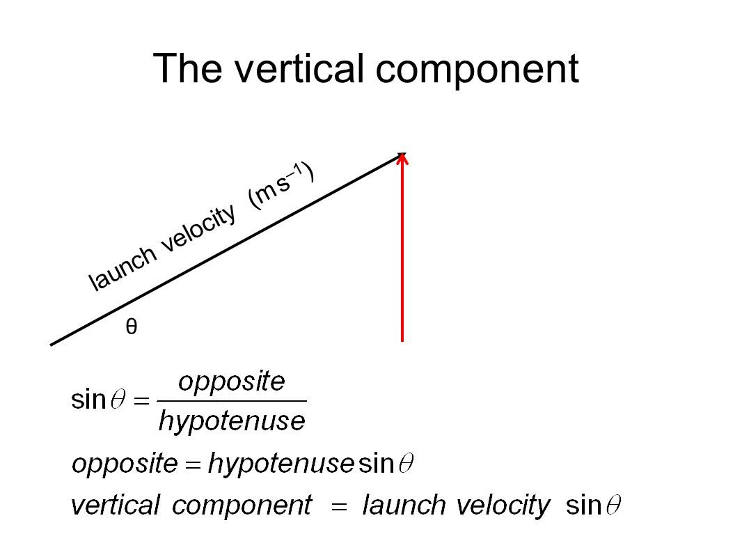 The vertical component