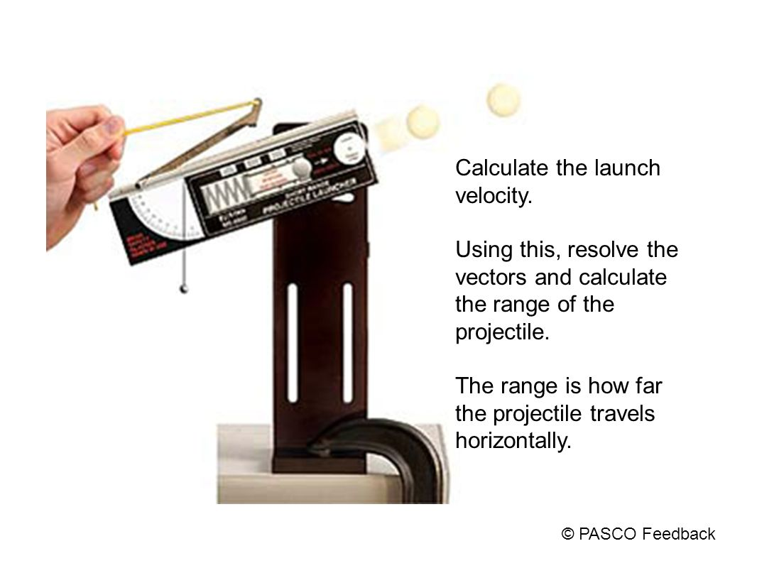 Calculate the launch velocity.