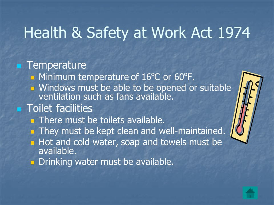 Health & Safety at Work Act 1974