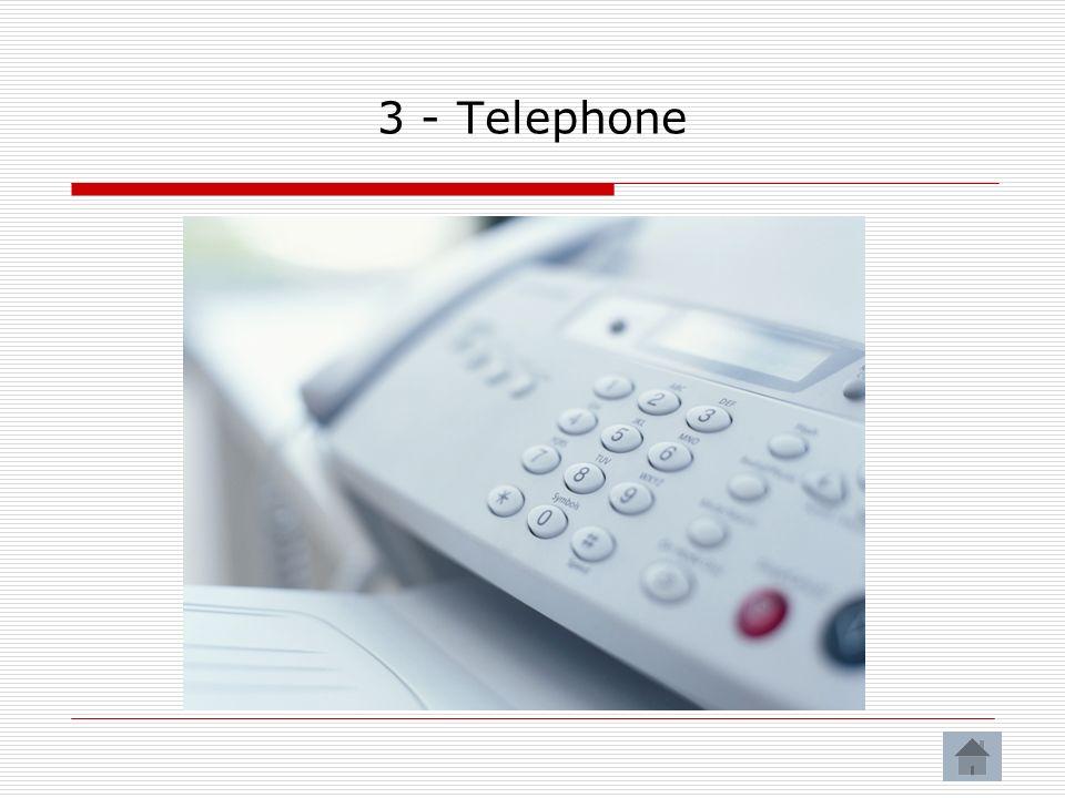 3 - Telephone