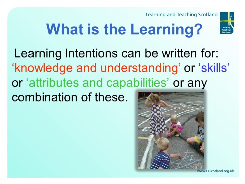 What is the Learning