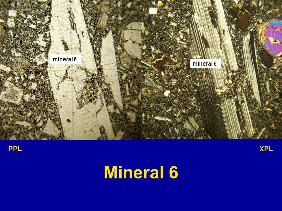 mineral 6 mineral 6 PPL XPL Mineral 6