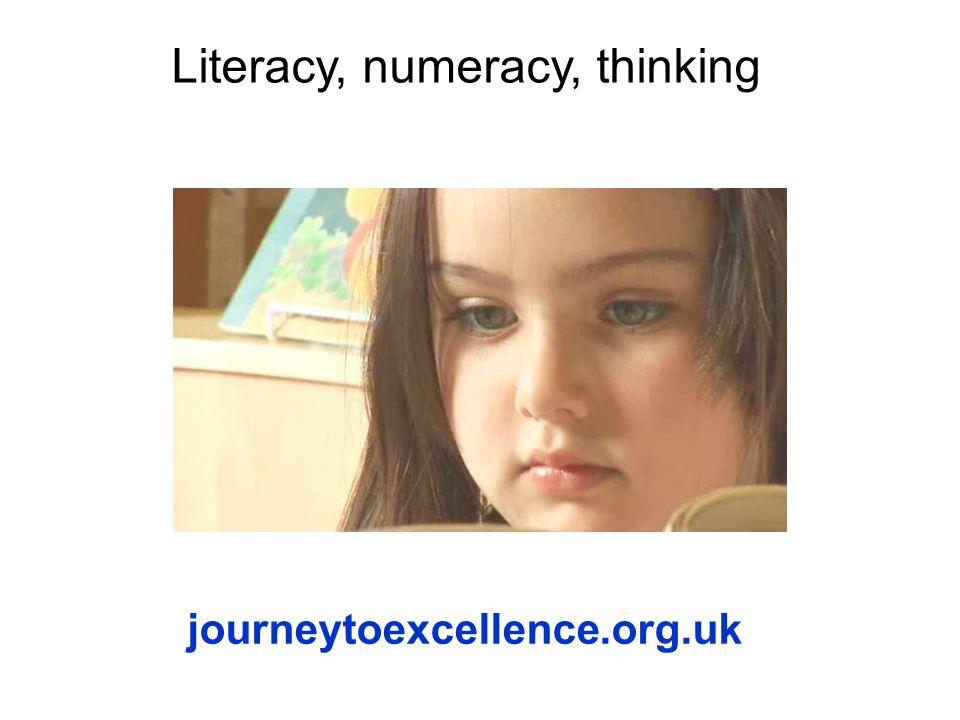 Literacy, numeracy, thinking