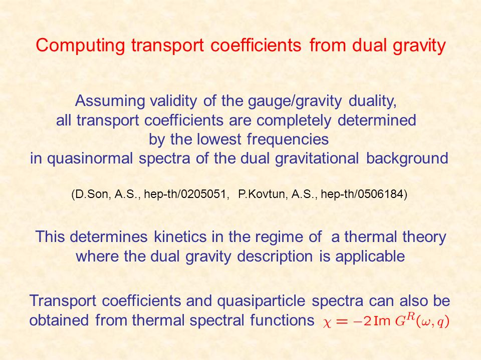 Computing transport coefficients from dual gravity