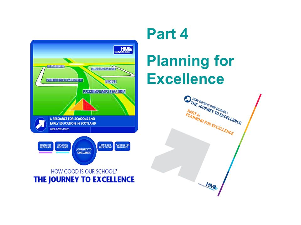 Part 4 Planning for Excellence