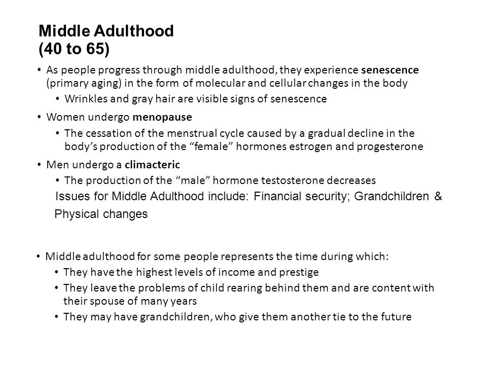 aging and adulthood essay Early and middle adulthood paper prepare a 1,050- to 1,400-word paper in which you examine the psychological adjustments to aging and lifestyle.