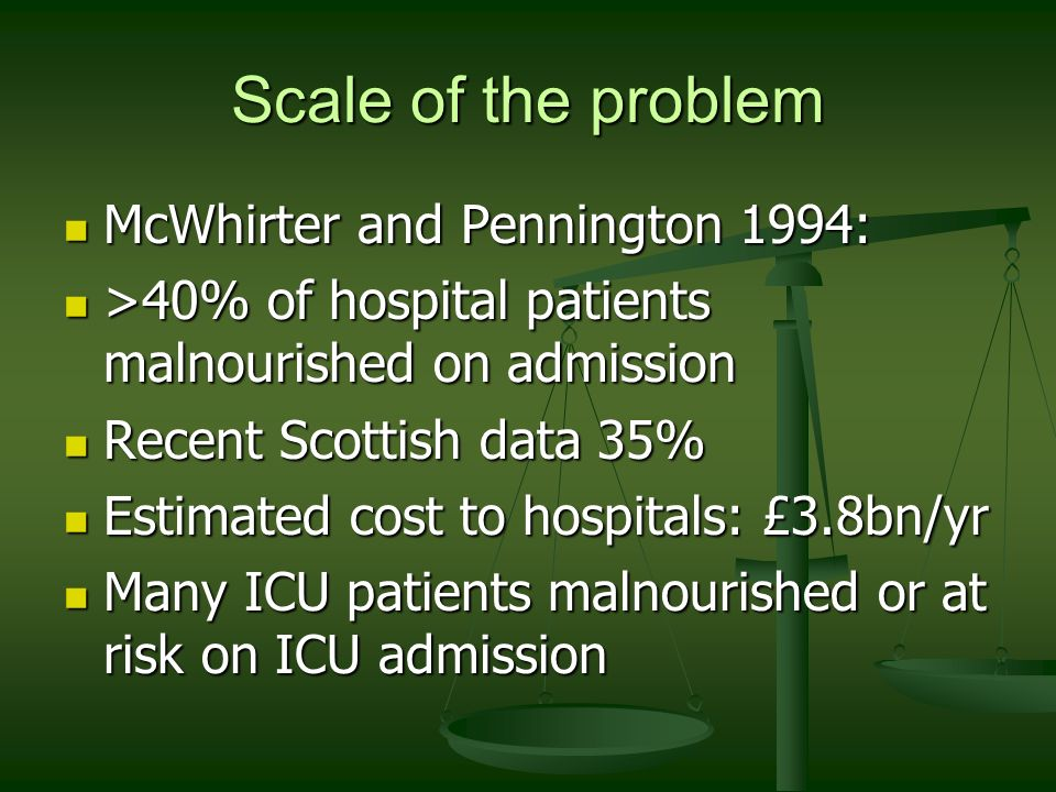 Scale of the problem McWhirter and Pennington 1994: