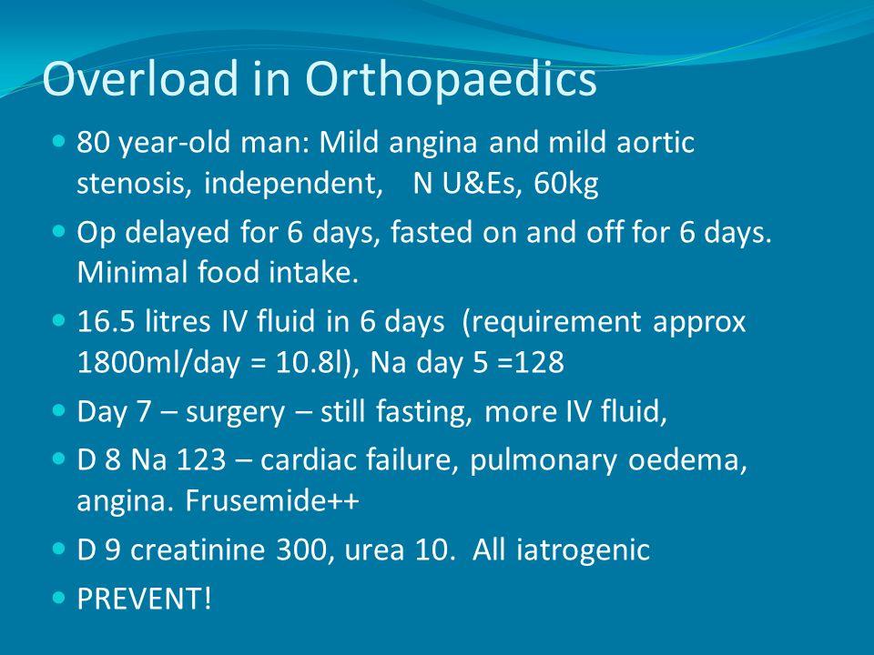 Overload in Orthopaedics