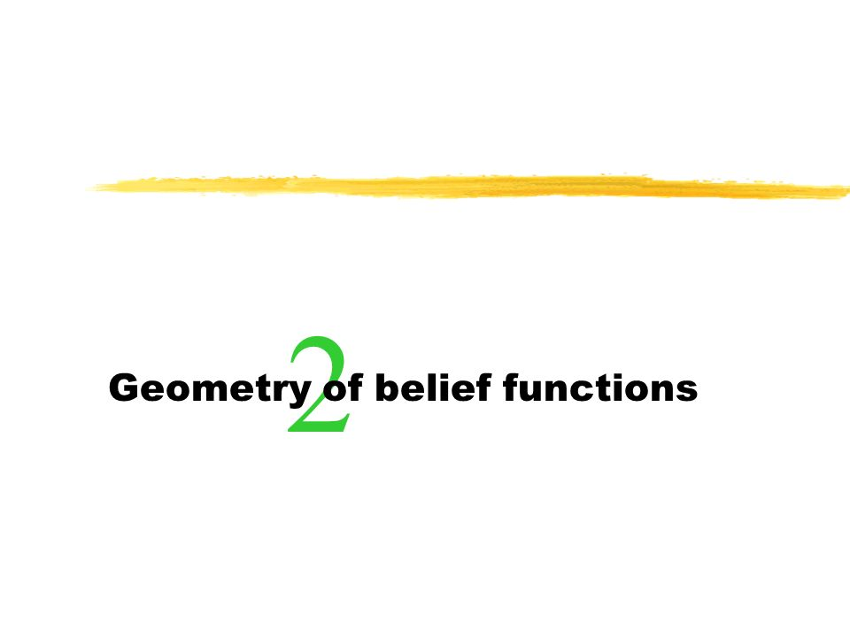 Geometry of belief functions