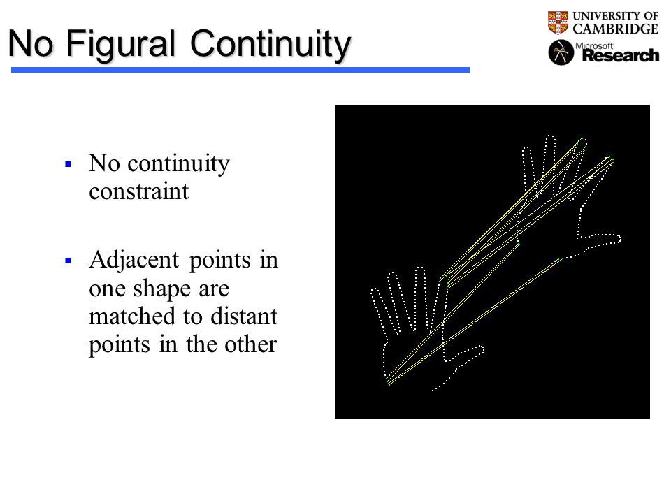 No Figural Continuity No continuity constraint
