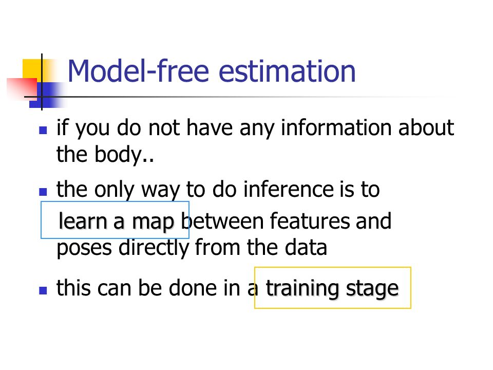 Model-free estimation