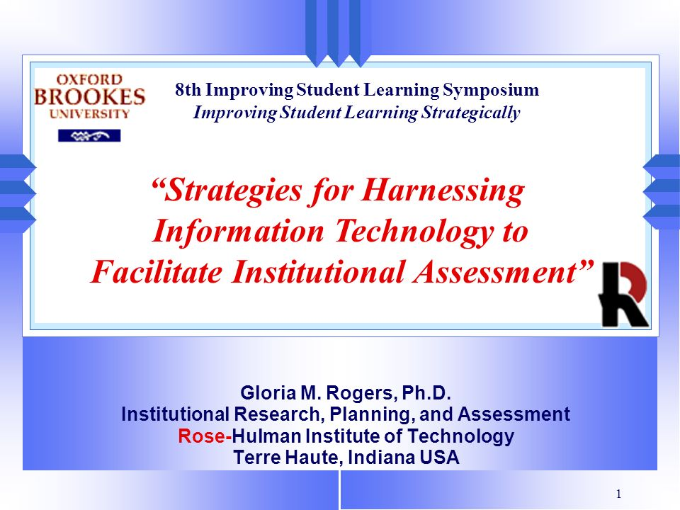 Strategies for Harnessing Information Technology to