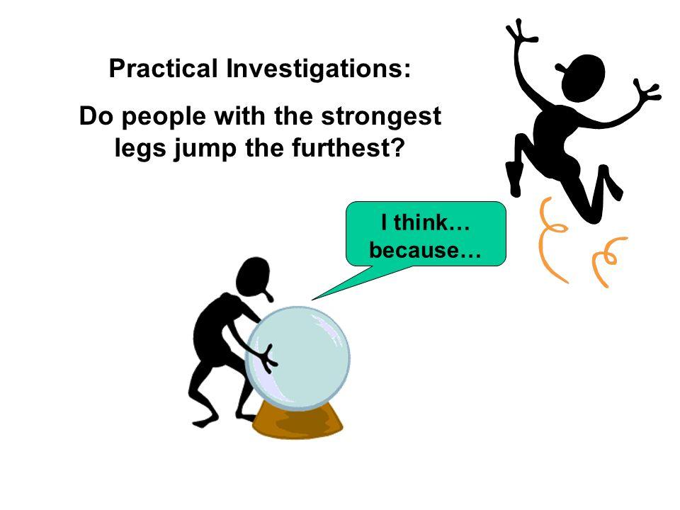 Practical Investigations: