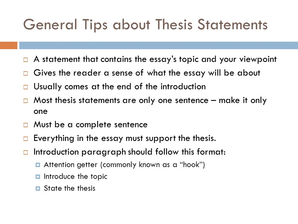 bellwork thesis statement write your thesis statement for your  general tips about thesis statements