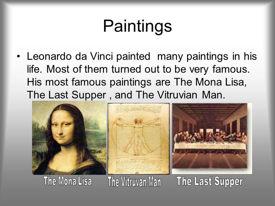 Most Famous Paintings Of Leonardo Da Vinci 57262 | FIREDRIVE