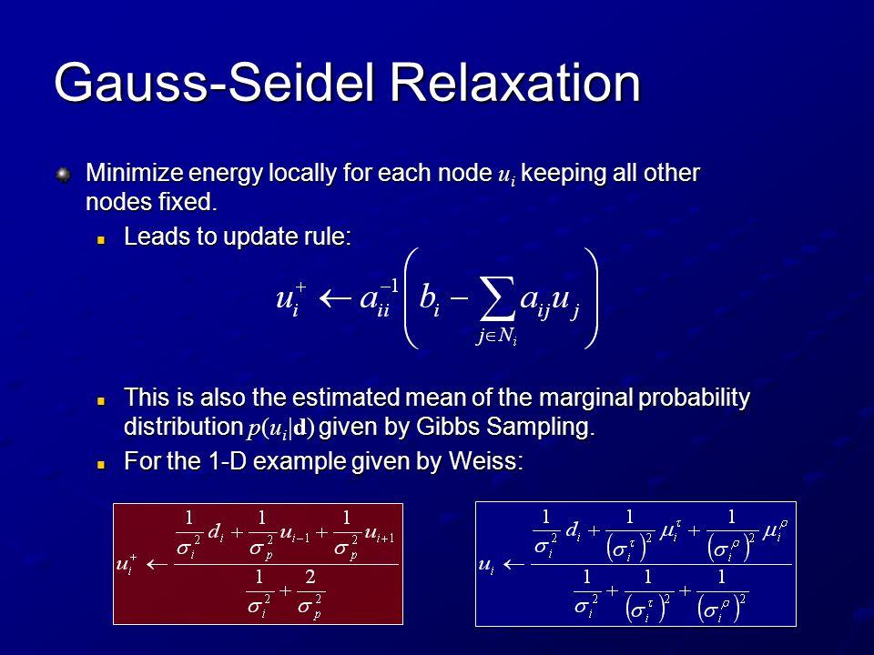 Gauss-Seidel Relaxation