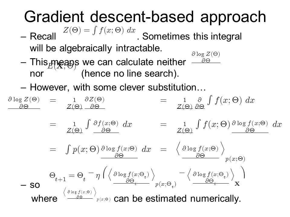 Gradient descent-based approach