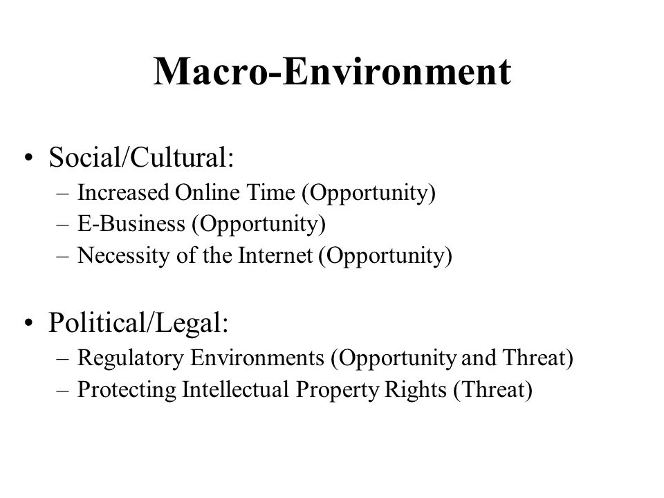 macro environment of all businesses in south africa All entities responding used competitor analysis, industry macro-environmental   business environment: the south african led network.